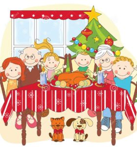 christmas-dinner-big-happy-family-together-27957287